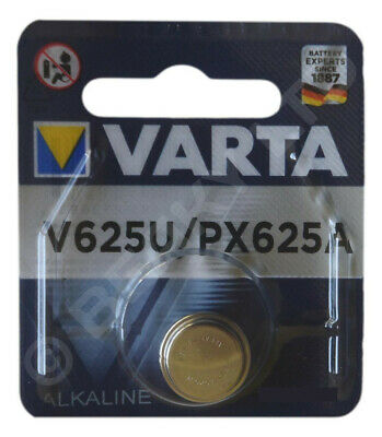 Genuine VARTA V625U  625A LR9 PX625A L1560 Alkaline Battery 1.5v [1-Pack]