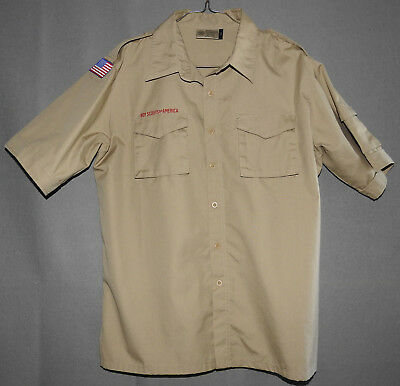 Boy Scouts of America Centennial Uniform Shirt size Adult Large