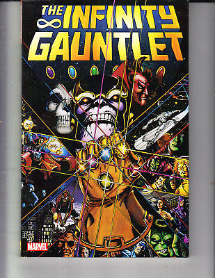 INFINITY GAUNTLET TPB MARVEL AVENGERS THANOS WAR 1-6 issues THE MOVIE
