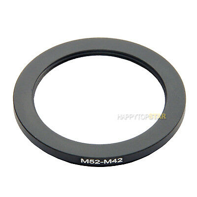 M52-M42 M52 Male to Female M42 52mm to 42mm Coupling Ring Adapter For Lens