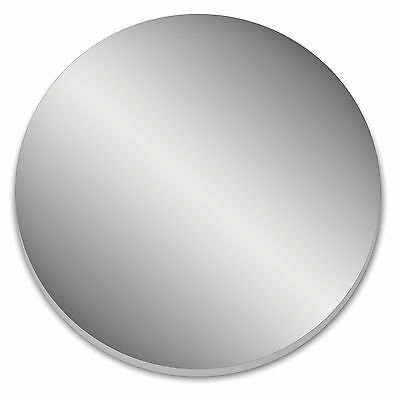 Mirrored Wall Decoration Shatter Resistant Acrylic Circular Round (DS28+)