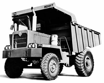 1982 Aveling Barford RD017 Dump Truck Factory Photo c8147-WEITD2