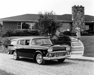 1959 AMC Rambler Station Wagon Factory Photo c8485-FV5DWR