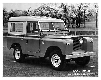 1968 Land Rover 88 Factory Photo c8711