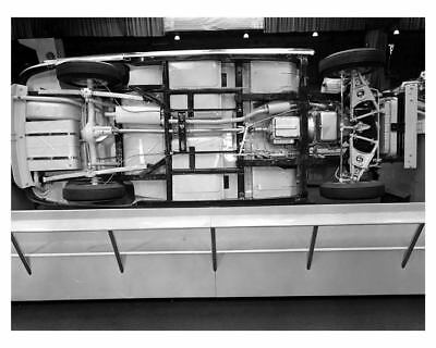 1953 Hudson Chassis Factory Photo c8892