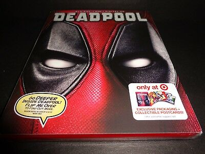 DEADPOOL-Target Exclusive Blu-Ray. DVD & Digital to 5-10-2019--Ryan Reynolds