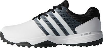 separation shoes 5d3f2 c4a74 Adidas 360 Traxion Golf Shoes White Black 10.5 Wide