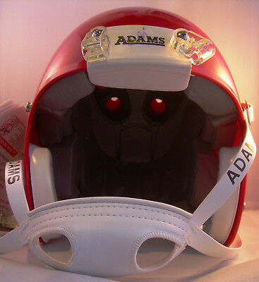 Footballhelm Adams A2010 GRID- ELITE, rot,  Gr. M, Neu,