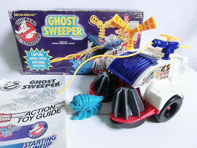 The Real Ghostbusters Ghost Sweeper Vehicle Kenner Mib Vintage Ovp Actionfiguren