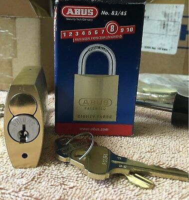 ABUS PADLOCK with Everest Primus Cylinder
