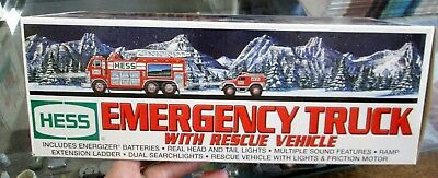 2005 Hess Emergency Truck with Rescue Vehicle NOS