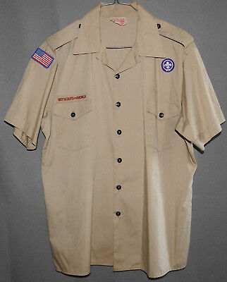 Boy Scouts of America Uniform Official Shirt size Men's X-LARGE