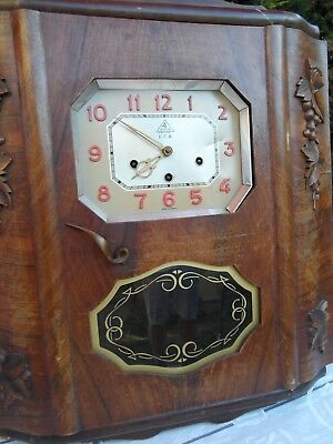 Ancien Carillon Westminster 4 Airs Lcb 10 Tige 10 Marteaux