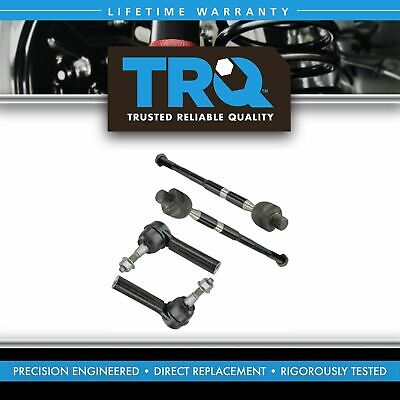 Inner Outer Tie Rod End LH Driver RH Passenger Set of 4 for 10-15 Chevy Camaro