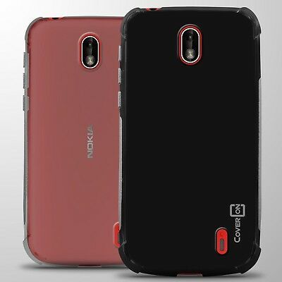 For Nokia 1 (2018) Case Slim Fit Flexible TPU Rubber Gel Phone Cover