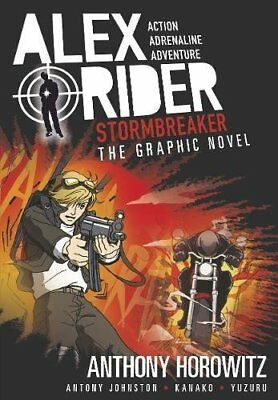 Stormbreaker Graphic Novel (Alex Rider) by Anthony Horowitz - Brand NEW Paperbac