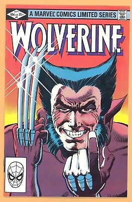 Wolverine #1 Limited Series Frank Miller Art Marvel Comics Copper Age Vf Rare