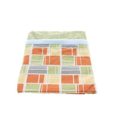 CoCaLo Baby 7512 Dinos At Play Orange Printed 36x48 Nursery Window Valance BHFO