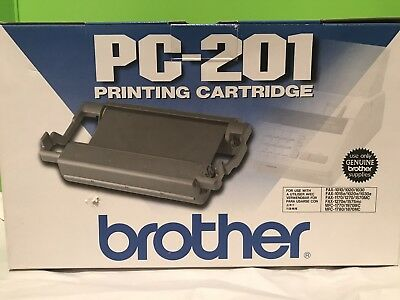 Genuine Brother PC-201 Printing Cartridge