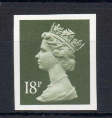 18p MACHIN UNMOUNTED MINT IMPERFORATE SINGLE