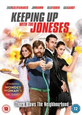Keeping Up With The Joneses DVD NEW DVD (6474801000)
