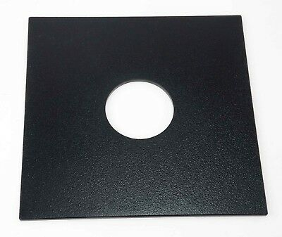 Sinar Fit Lens Board - 42mm Hole - Norma, F's, P's Etc 13.8cm x 13.8cm.