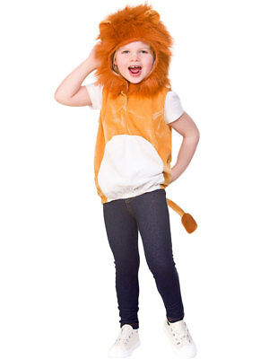 LION FANCY DRESS COSTUME //WIZARD OF OZ //ANIMAL all large child sizes available