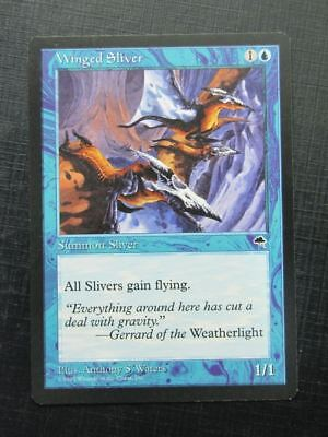 Winged Sliver - Mtg Magic Card # 13E72