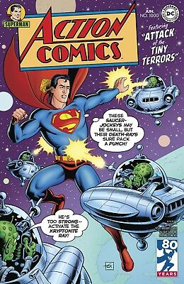 Action Comics #1000 1950S COVER DAVE GIBBONS