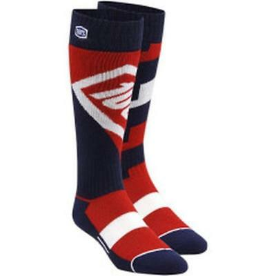100% TORQUE YOUTH Motocross MTB Kinder Socken 2018 - rot Motocross Enduro MX Cro