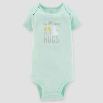 9 Month Just One You Carter's Easter On the hunt hugs short-sleeved body suit