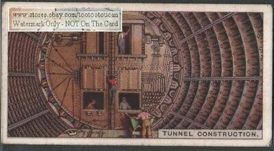 Shield Tunnel Construction Method and Equipment 90+ Y/O Ad Trade Card