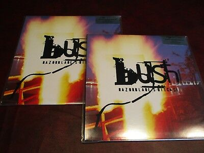 Bush Razorblade 2 Lp Pressing Uk Simply Vinyl Deluxe Packaging Play 1 Collect 1