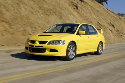 2003 Mitsubishi Lancer Evolution Factory Photo m574-SYGHDN