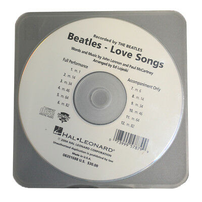 The Beatles - Love Songs (2004) CD Backing Tracks Rare Album Lennon McCartney