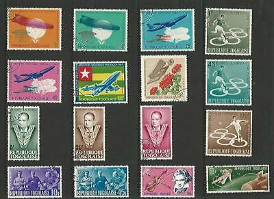 y4750 Togo Togalaise /  A Small collection of Early & Modern Used