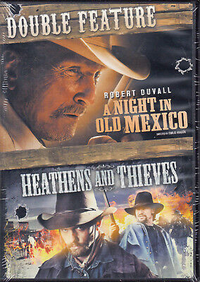 A Night in Old Mexico/Heathens and Thieves (DVD, 2016) New