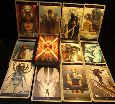Brand New! Meta Barons Tarot Card Oracle Metaphysical Mysteries Open For Pics!!