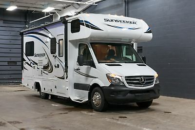 Forest River Sunseeker 2400S MBS Mercedes Sprinter Diesel Class C Motorhome RV