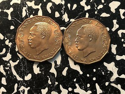 1974 Tanzania 5 Senti (2 Available) High Grade! Beautiful! (1 Coin Only)