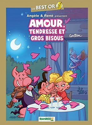 Angele & Rene : Amour, tendresse et gros bisous Curd Ridel Bamboo Editions Album