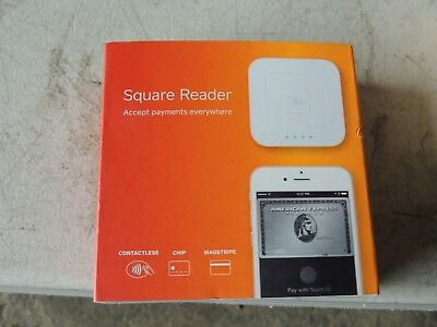 NEW Square Reader Contactless Chip Stripe Credit Card Reader A-SKU-0113