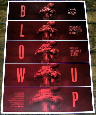 BLOW UP Michelangelo Antonioni David Hemmings Redgrave SMALL French POSTER