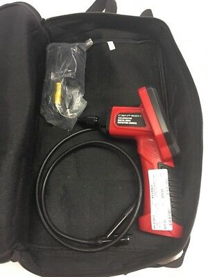 Centech Digital Inspection Camera Scope 62359 With Carrying Case Used