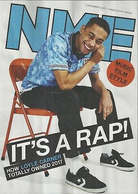 NME - 1 December 2017 - Loyle Carner Cover/Black Mirror/Miguel