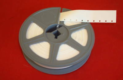 1  *NEW* 16mm KODAK MOVIE LEADER 100' (SOUND)  WHITE Mounted on a New Reel