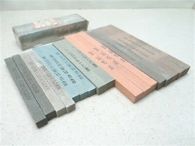 "23Pc New! Assorted Abrasive Sticks 1/2"" & 5/8"" Baystate Cincinnati"