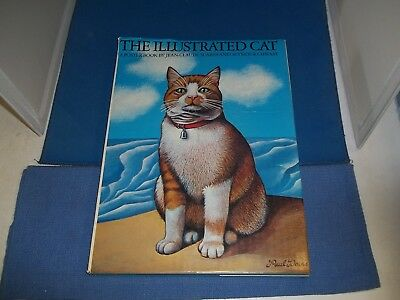 The Illustrated Cat A Poster Book by Suares and Chwast Hardcover 4th printing