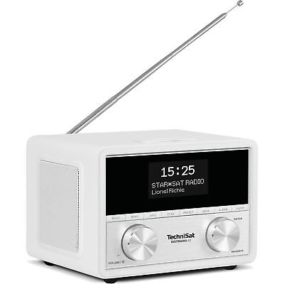 TechniSat DIGITRADIO 80, Radiowecker, weiß