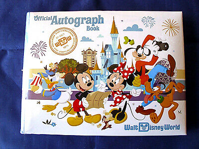 Disney * WDW Official Small Autograph Book - Mickey & Friends * New & Sealed